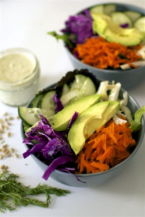 Big Bowl Salad Detox by Detox Salad Bowl With Lemony Dill Sunflower Seed Dressing