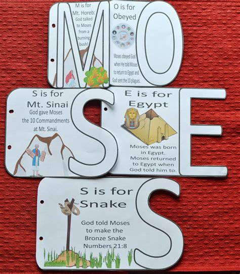 moses and the big science and creation books bible for moses the bronze snake
