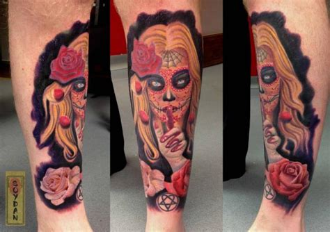 yakuza head tattoo arm mexican skull tattoo by yakuza tattoo