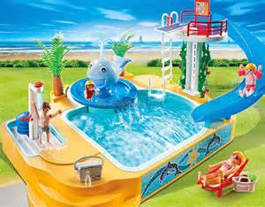 playmobil schwimmbad 5433 playmobil avonturenbad met walvisfontein 5433