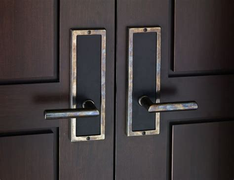 Modern Door Handles Exterior Contemporary Entry Door Hardware By Rocky Mountain Hardware Contemporary Entry Chicago