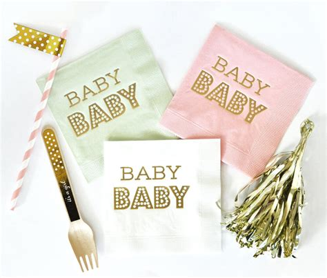 Baby Napkins 10 baby shower napkins to wow your guests