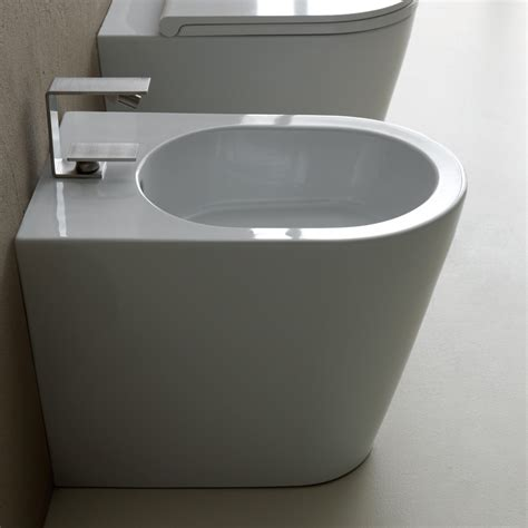 bidet italy modern design ceramic bidet 57x37cm sun made in italy