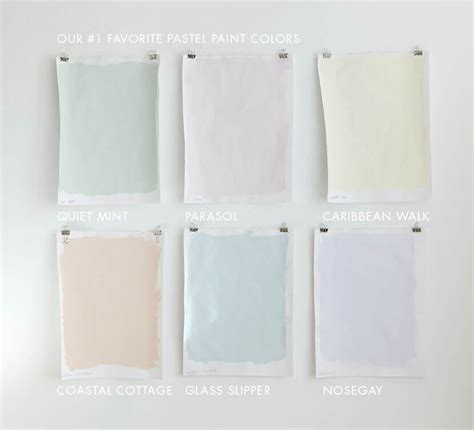 pastel wall colors home design interior