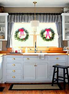 Kitchen Windows Decorating S Merry Kitchen