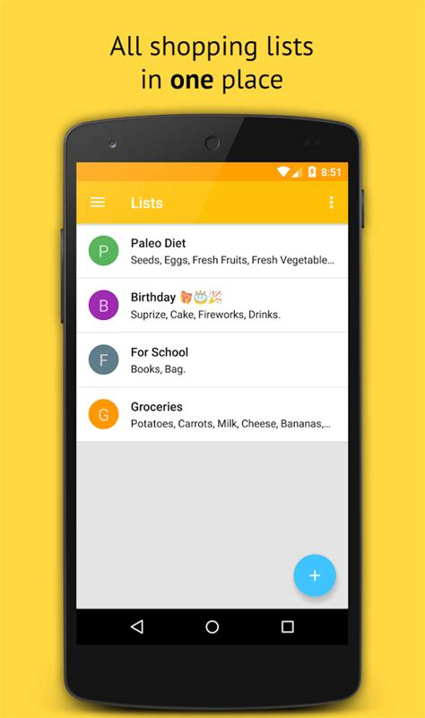 Pantry List App by Grocery Shopping List Android Apps On Play