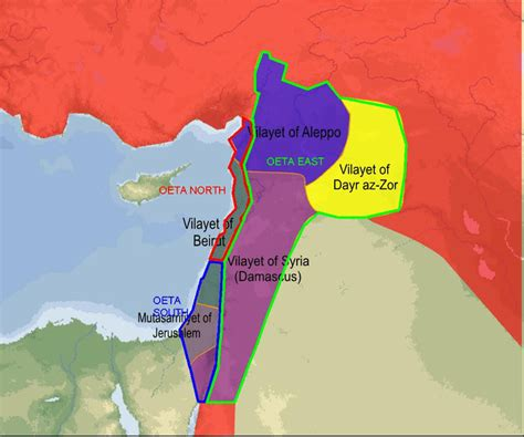 Palestine Ottoman Empire Mandate In Palestine Israel And You