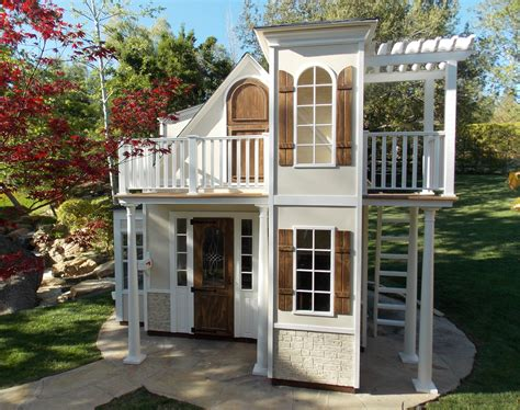 backyard play houses childrens custom playhouses diy playhouse plans lilliput