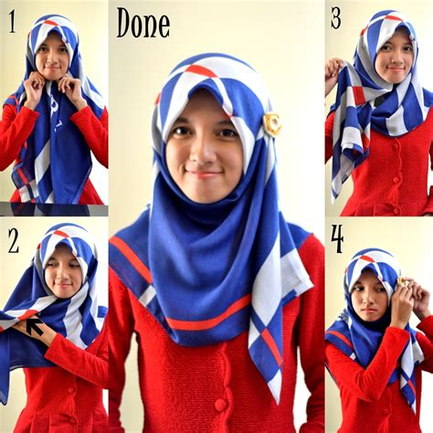 Tutorial Segitiga Tutorial Segitiga Simple 2016 17 Hijabiworld