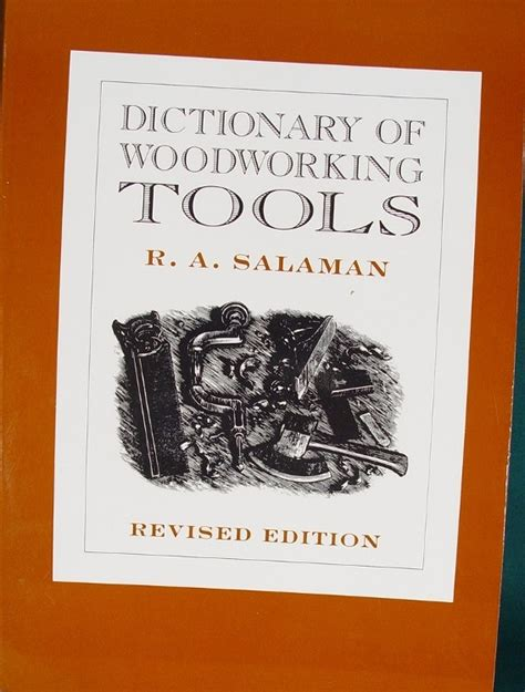 woodworking dictionary books on tools