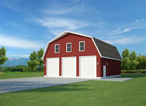 gambrel barn plans shed plans  dvd