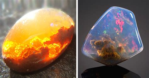 25 magnificent minerals and stones with hidden galaxies