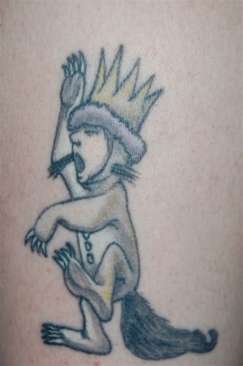 where the wild things are tattoos where the things are week day 2 contrariwise