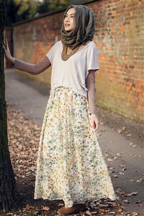 Baju Muslim Elegan Untuk Sehari Hari trend desain busana muslim remaja terpopuler 2015