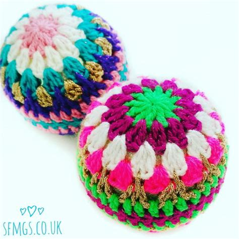 bauble decorations crochet bauble decorations favecrafts