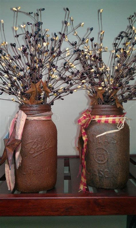 country home decorating ideas country canning jar idea 25 best ideas about rustic primitive decor on pinterest