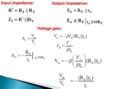 bipolar transistor output impedance bipolar transistor input impedance 28 images discrete audio lifier basics part 1 bipolar
