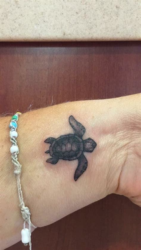 black tortoise tattoo 37 baby turtle tattoos