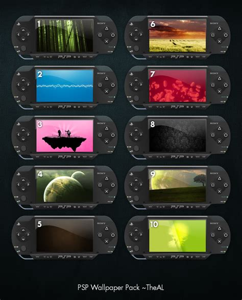 themes psp pack psp wallpaper pack by theal on deviantart