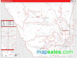map of larimer county colorado larimer county co zip code wall map line style by