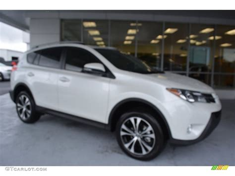 2015 blizzard pearl toyota rav4 limited 107502976 gtcarlot car color galleries