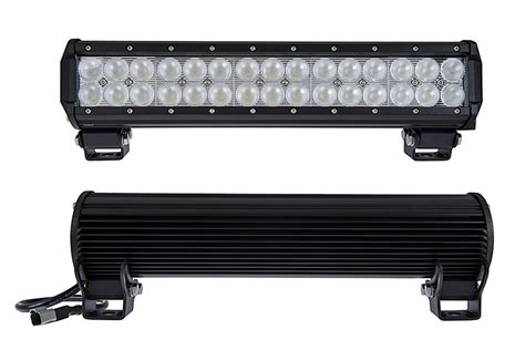 15 Quot Off Road Led Light Bar 90w 6 300 Lumens Led Light Road Light Bars Led