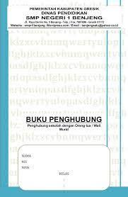 format buku penghubung orang tua download contoh buku penghubung orang tua dengan wali