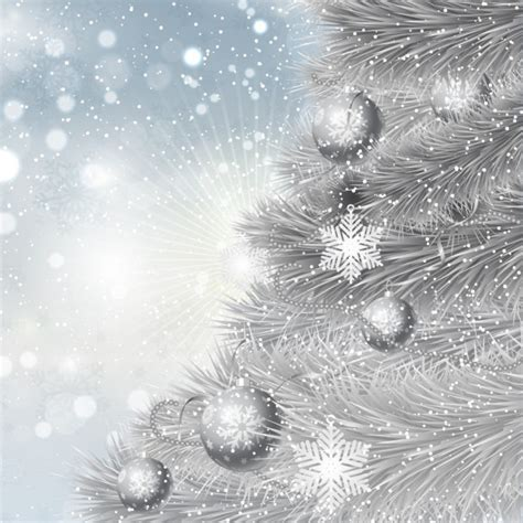 direct floral green glitter metal 3d christmas tree pick silver christmas tree background vector free download