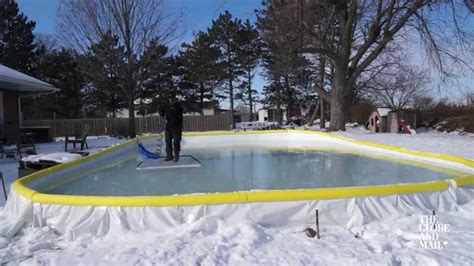 backyard ice rink tips three tips for keeping your backyard rink smooth all