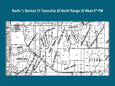 section township range locator ppt organization of space organization of behavior