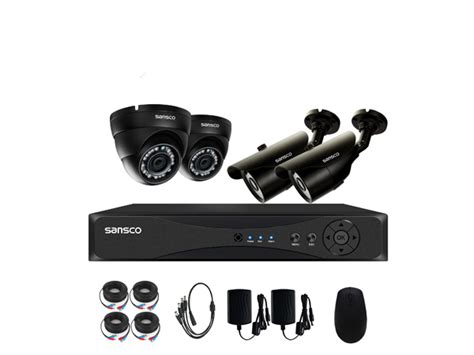 Dvr Xmeye 4ch By Cctv Smart sansco 4ch 5 in 1 smart 1080p dvr recorder cctv