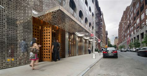 design dream new york metallic circles the dream downtown hotel in new york by