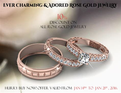 Percent Off On All Our Rose Gold Jewelry Fascinating