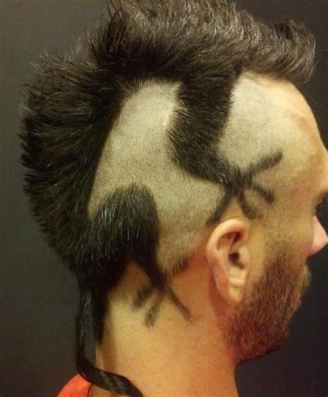 origin of the rat tail haircut 10 crazy terrible and hilarious haircuts toptenz net
