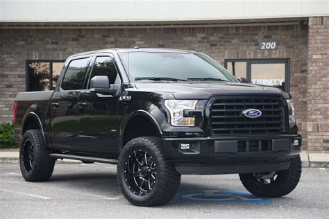 ford truck lifted 6 quot lifted 16 ford f150 on gear alloys trinity motorsports