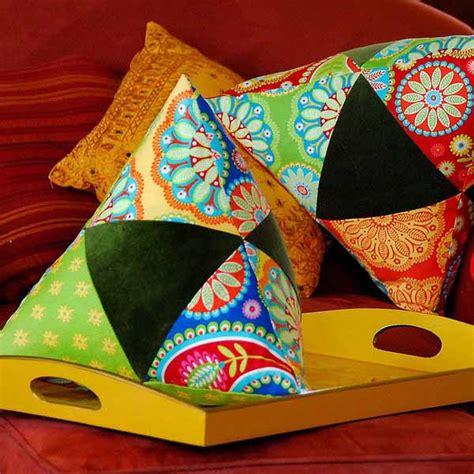 making pillows gypsy romance bright craft ideas