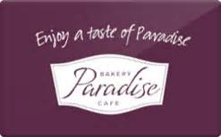 Paradise Bakery Gift Card - buy paradise bakery cafe gift cards raise