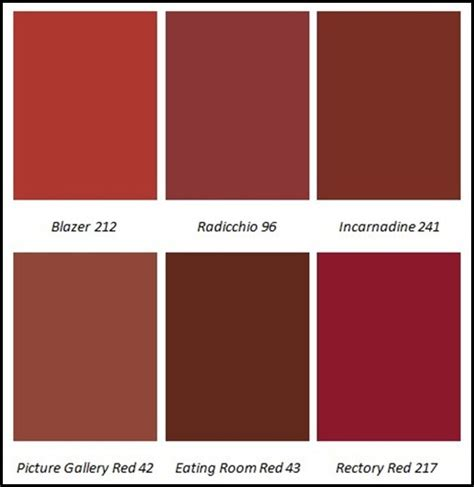 types of red colors farrow and ball greys and reds pinterest