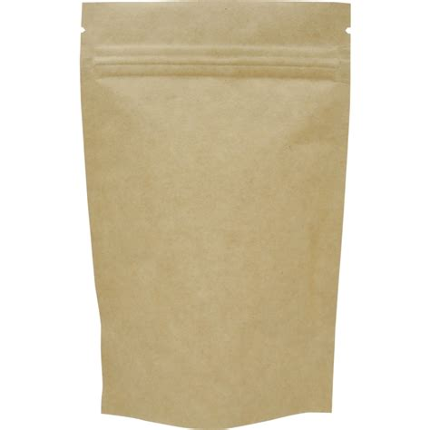 Standing Pouch Alufoil Emas 500 Zipper the bag broker uk 70g stand up pouch with zip kraft