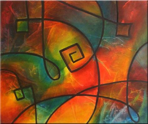 how to paint acrylic on canvas in abstract original abstract painting acrylic on canvas sold by