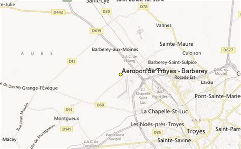 troyes map a 233 roport de troyes barberey weather station record