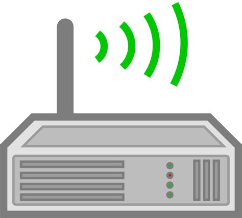Router Wifi clipartist net 187 clip 187 router julio 2012 svg