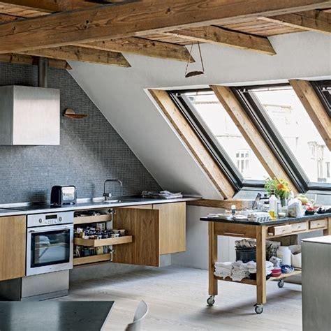 kitchen roof design kitchen take a tour around an unusual and edgy apartment