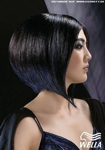 frisuren bilder voluminoeser bob mit schraeger kontur