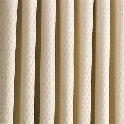cream patterned curtains paoletti de vere chenille jacquard woven lined eyelet