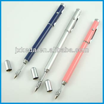 1pc pointer pen instrument baton section 6 stainless steel good quality multifunction retractable laser pointer teach