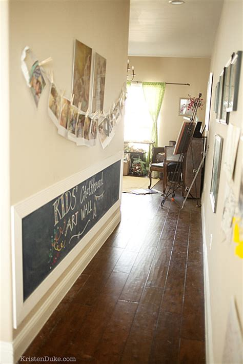 clever ways  decorate  hallway decorating