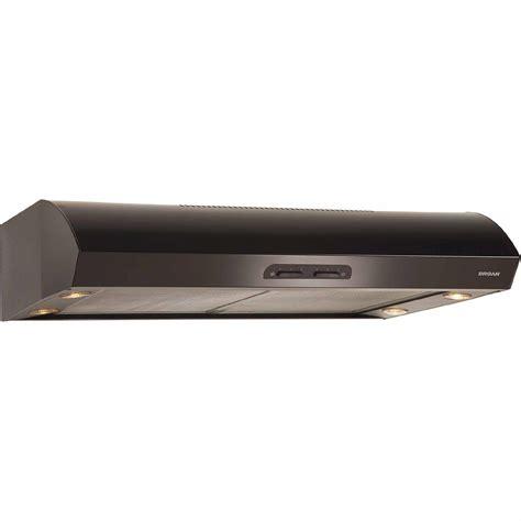 30 inch under cabinet range hood black broan qp130bl 30 300 cfm under cabinet range hood