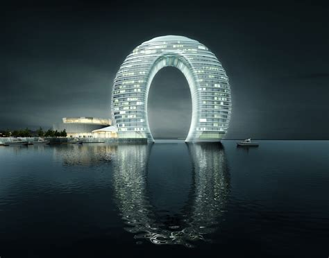 Guess Arco sheraton moon hotel by mad architects