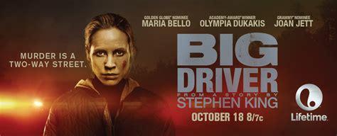 Watch Big Driver 2014 Big Driver And Mas Negro Que La Noche Coming 1 27 Modern Horrors